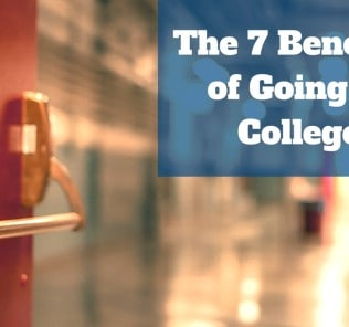 benefits of going to college There are costs and benefits of going to college, some of which accrue to individuals and some of which flow to society unfortunately.