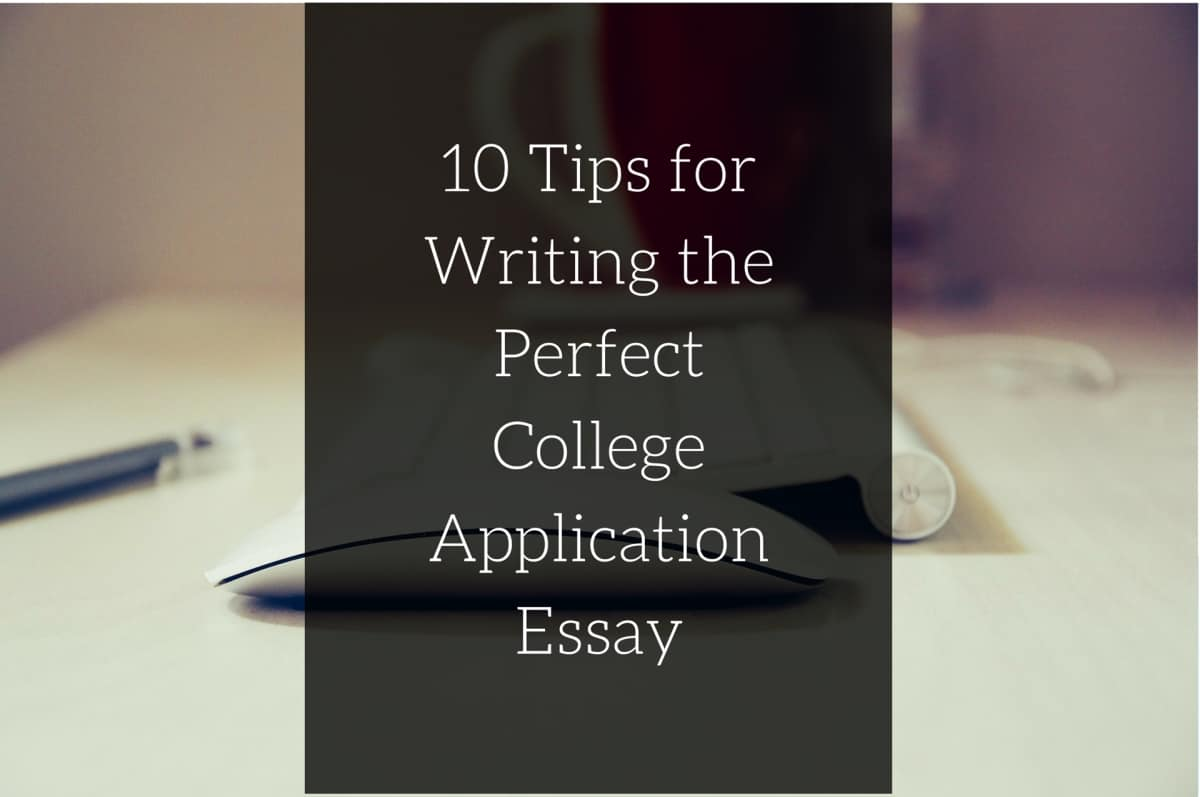 College application essays writing help
