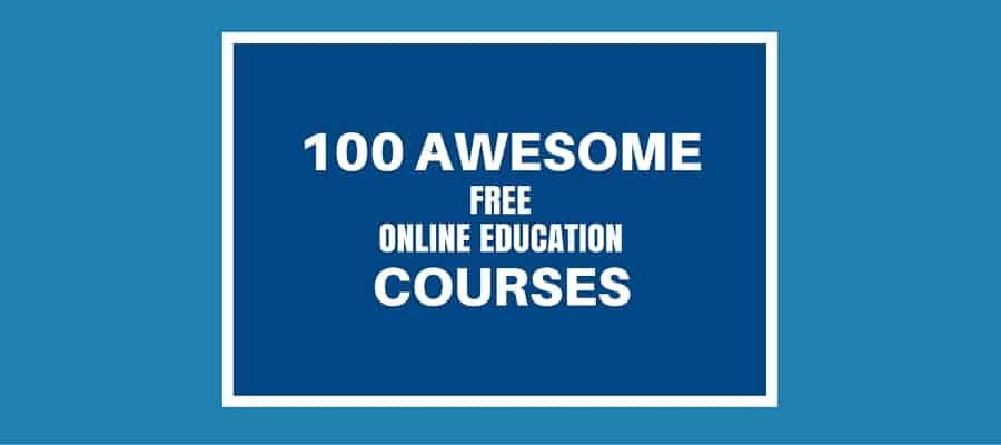 100 free open ed classes