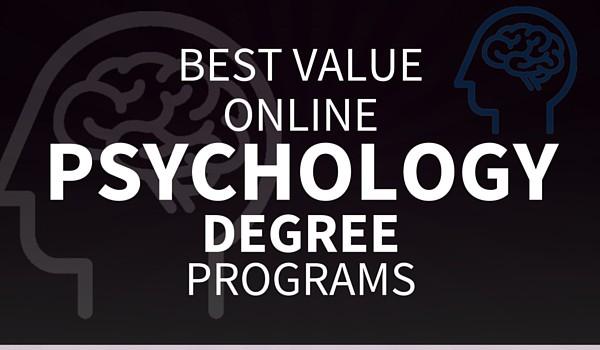 BEST VALUE Online Psychology Degree Programs