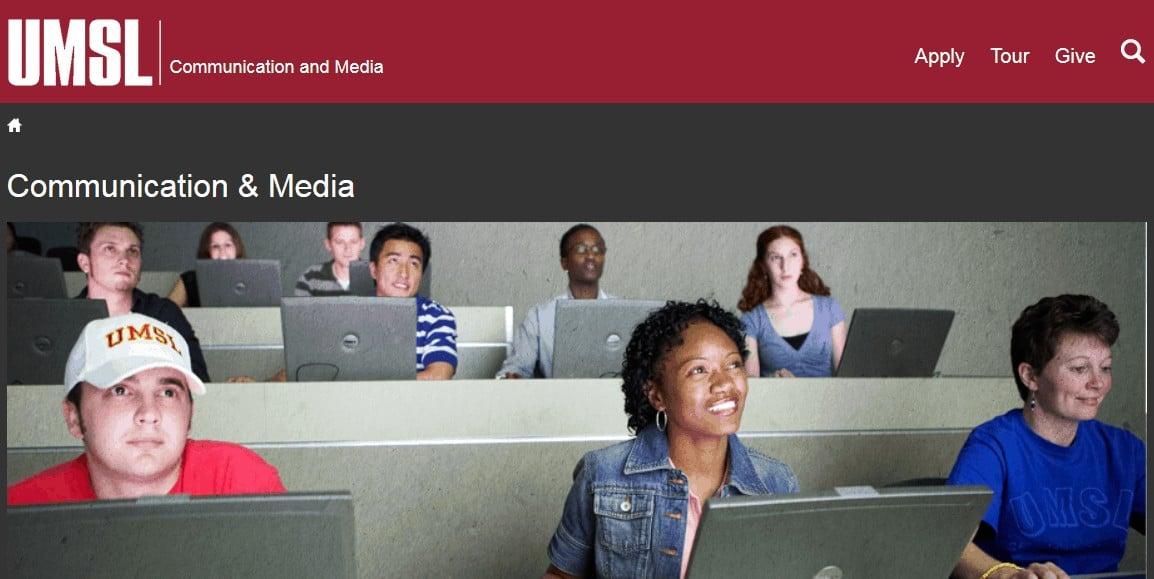 UMSL_best_online_communications_program