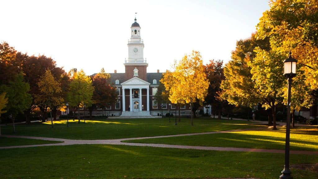 best non-profit online colleges - johns hopkins_university