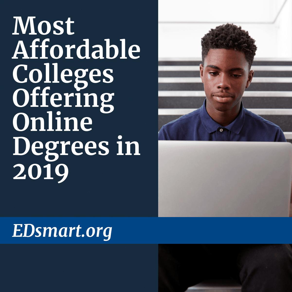 Cheapest Online College Degrees 2019 [Associates, Bachelors