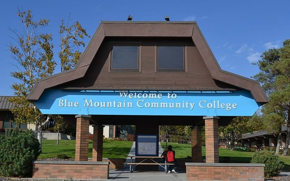 best colleges & universities in Oregon_Blue_Mountain_Community_College