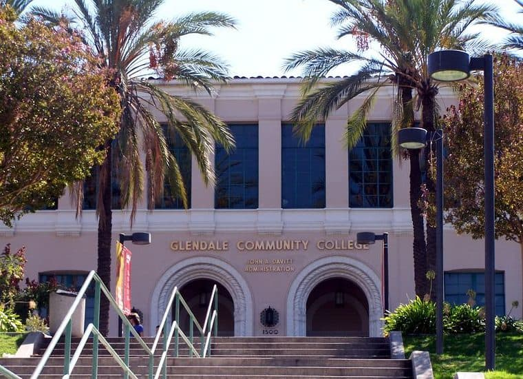best colleges & universities in california_glendale_community_college