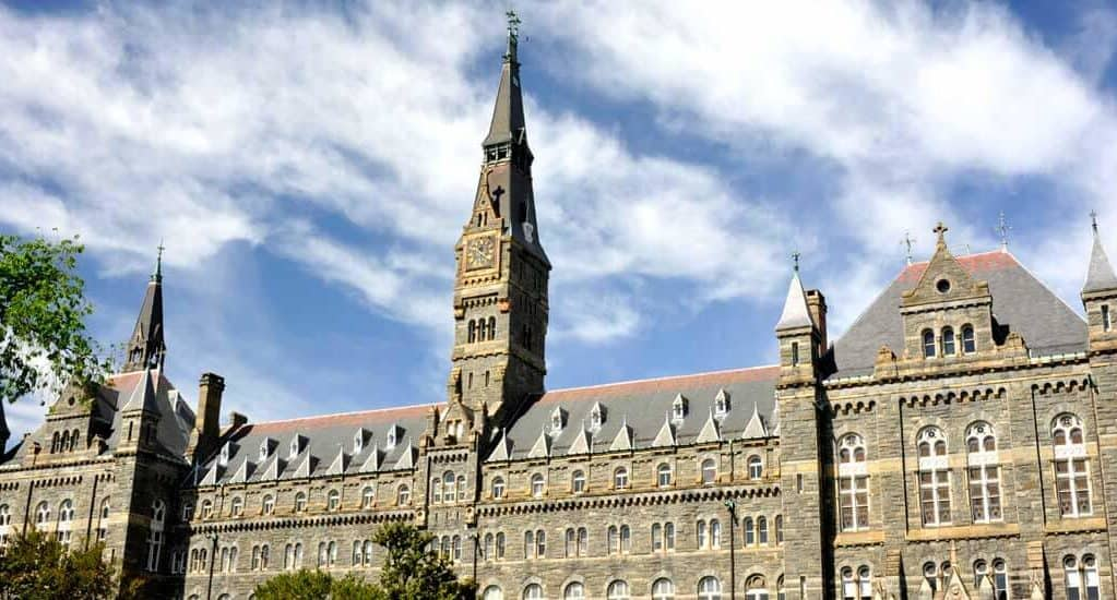 best part-time MBA programs_Georgetown_university